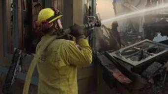 More Homes Burn as Fire Marches Across Montecito Area
