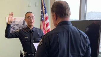 Police Officer Born With Medical Condition Saves Life