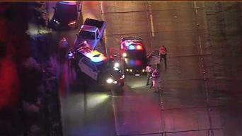 Suspected Road Rage Crash Shuts Down Antelope Valley Freeway