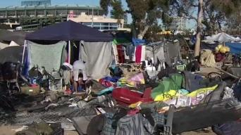 Homeless Relocation Fight