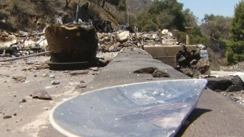 Residents Return Home to Nothing After Sand Fire