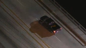 Suspected Stolen Vehicle Pursuit Ends in Crash, Driver Getting Dragged in Palos Verdes