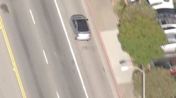 Police Pursuit of Silver Sedan Ends in Montebello Standoff