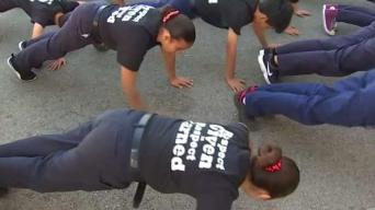 Pomona Police Officers Teach Students Integrity in Boot Camp