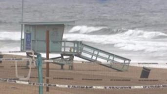 Rainfall Creates Health Hazards at the Beach