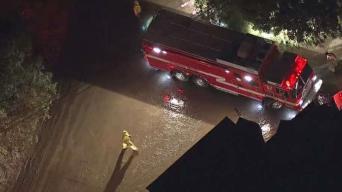 Water Main Break Causes Mudslide in Hollywood Hills