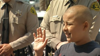 Boy Fighting Cancer Made Honorary K-9 Deputy