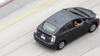 Passenger in Prius Opens Fire at Officers During High-Speed LA Freeway Chase