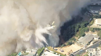 Fire in Pacific Palisades 30% Contained