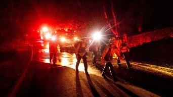 OC Upstaffs Firefighters As Winds Heighten Blaze Potential