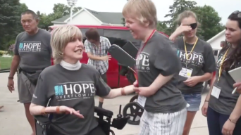 Nonprofit Helps People With Disabilities Worldwide
