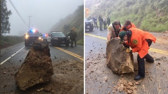 Boulder Crashes Down on Hiker, Leaving Her in Critical Condition