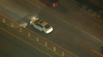 Officers Pursue DUI Suspect From San Fernando Valley to Coast and Back