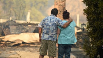 Those Affected by Saddleridge Fire Can Get Help at Center