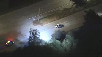 Police Chase Man Allegedly Involved in Armed Carjacking