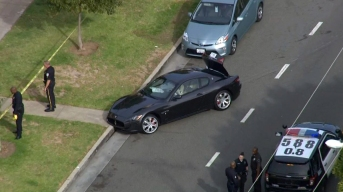 Carjacking Suspect in Maserati Arrested After Pursuit