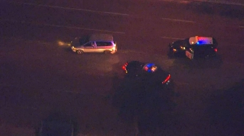 Wrong-Way Pursuit Driver Surrenders in Santa Ana