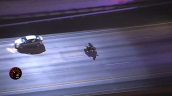 Motorcyclist Surrenders in Inglewood Following Short Pursuit