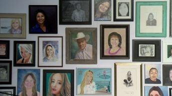 Portraits of Las Vegas Shooting Victims on Display