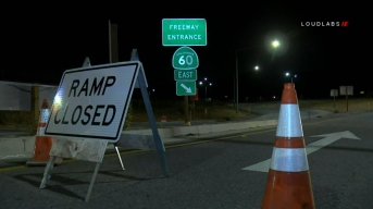 Eastbound 60 Freeway to Remain Open Labor Day Weekend