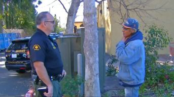 Orange County Deputy Helps Find Homes for Homeless
