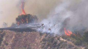 'South Fire' in Newhall, Near Santa Clarita Forces Evacuations