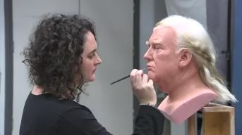 President Trump Gets Wax Figure for Madame Tussauds