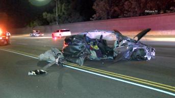 I-5 Freeway Lanes Closed After Woman Killed in Big Rig Crash