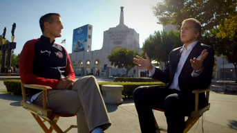 Mayor Garcetti Extended One-on-One: Talking Chance for LA Olympics in 2024
