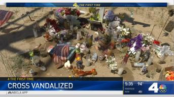 Good Samaritan Memorial Vandalized in Riverside