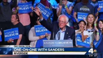 Sanders, Clinton Campaign in Southland