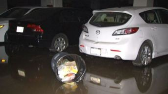 Hundreds of Cars Still Trapped in UCLA Parking Structures