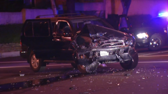 Attempted Burglary Ends With Pursuit, Rollover Crash