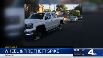 Tire Thefts Spike in Harbor Area