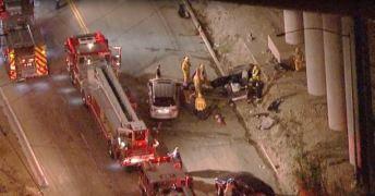 2 Dead, 3 Injured in Sylmar Crash