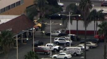 Pursuit Driver Runs From Car After Anaheim Crash