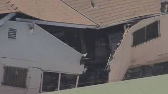 One Injured When Explosion Rips Apart Boyle Heights Home