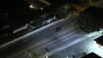 Police Pursue Stolen Vehicle in West LA Area