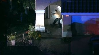 Pursuit Ends With K-9 Takedown in Corona