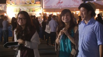 OC Night Market Opens to Big Crowds