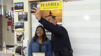 Santa Ana Officer Gifts Student With Cerebral Palsy 'Hamilton' Tickets