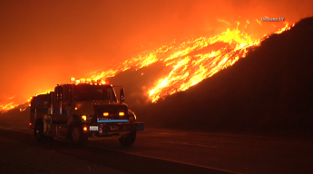 1,236 Acres Burned in Solimar Beach Fire Near Ventura