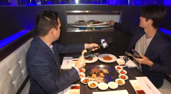 Robots Serve Food at This Korean Barbecue Restaurant
