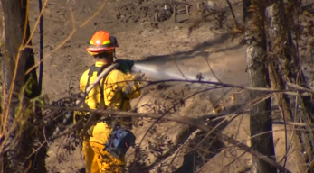 Taxpayers Could Pay if Fire Ignites in Homeless Encampment