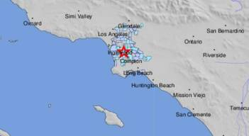 Morning Quakes Shake Area South of Downtown LA