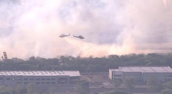 Santa Clarita Brush Fire Burns 20 Acres