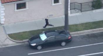 Two Taken Into Custody in Stolen Car Pursuit