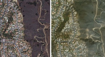 Thomas Fire: Before-and-After Images of Burn Areas