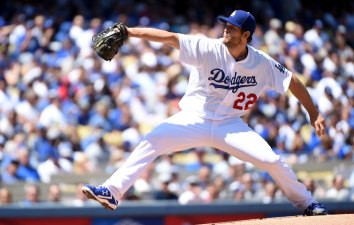 Kershaw K's Twelve In First Win of Season