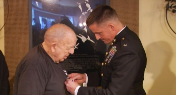 WWII Veteran Surprised With Purple Heart